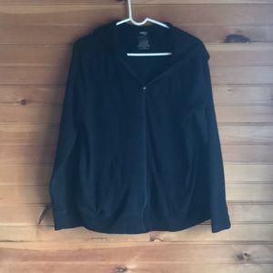 Danskin Now XXL black hoodie